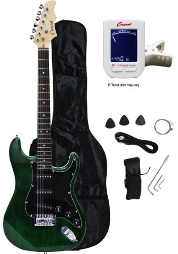 Crescent Electric Guitar Starter Package