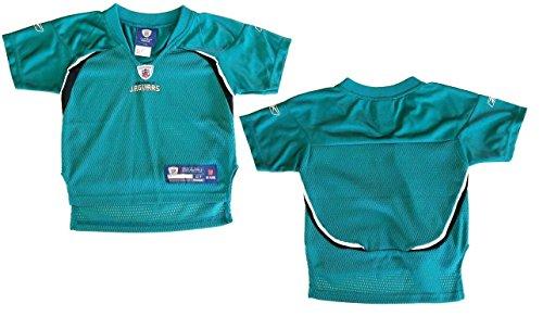 Reebok Teal Replica Football (Jacksonville Jaguars NFL Toddler Team Replica Jersey, Teal)