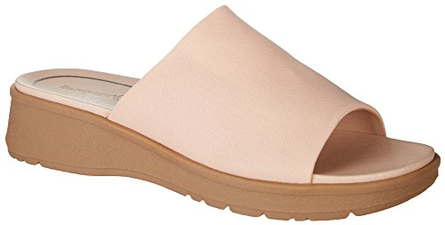 Baretraps Womens Rebecca Slide Sandale Rose Clair