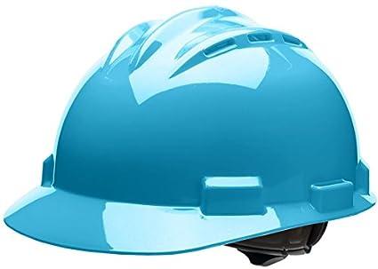 Bullard 62skb estándar serie tapa estilo duro protector con ventilación, 4 punto trinquete suspensión,