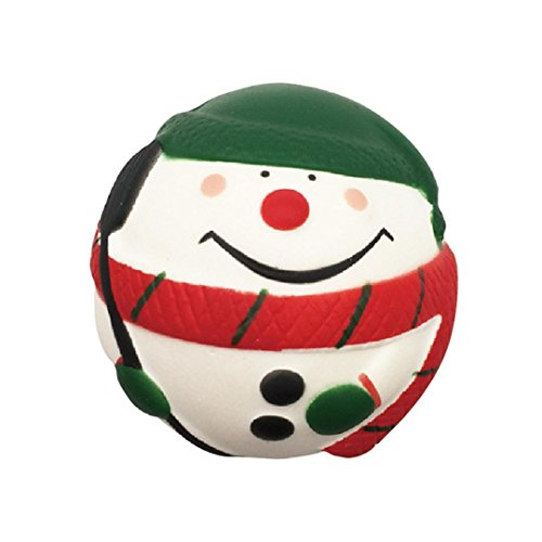 Forthery Jumbo Squishy Toy, Santa Snowman Squeeze Slow Rising Decompression Kids Toy (Green)