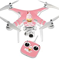 Skin For DJI Phantom 3 Standard – Cupcakeologist   MightySkins Protective, Durable, and Unique Vinyl Decal wrap cover   Easy To Apply, Remove, and Change Styles   Made in the USA