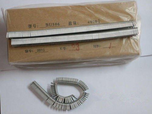 JIAWANSHUN 5 Boxes U Type 506 Clip Staple for Sausage Cutting Machine 4000pcs/box