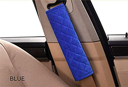 2 Pack Soft Coffee Comfortable ANDALUS Seat Belt Covers for Adults Car Seatbelt Cover Universal