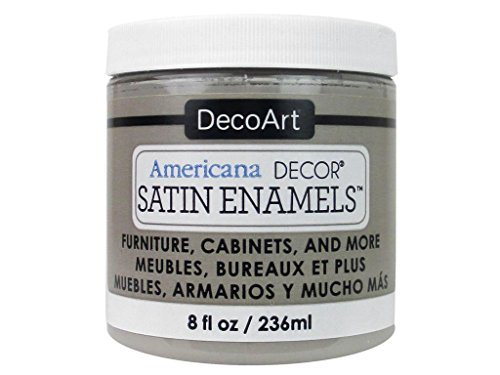 Grey Satin Enamel - DecoArt DECADSA-36.19 Decor Satin Enamels Greytaup Americana Decor Satin Enamels 8oz Greytaup