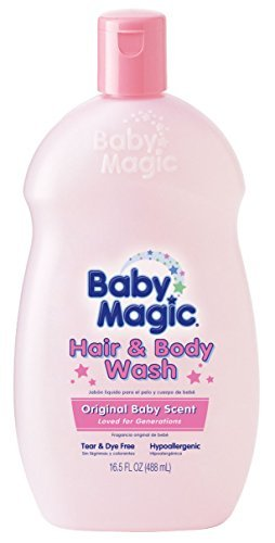 Baby Magic Hair & Body Wash Baby, Original Baby Scent by ...