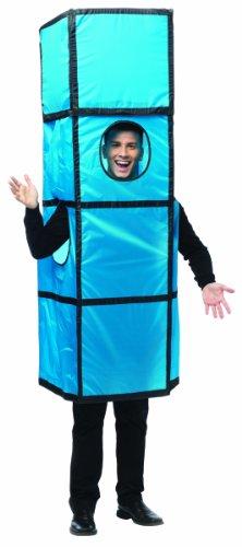[Rasta Imposta Unisex Tetris Tetrimino, Blue/Black Trim, One Size] (Cheap Maternity Halloween Costumes)