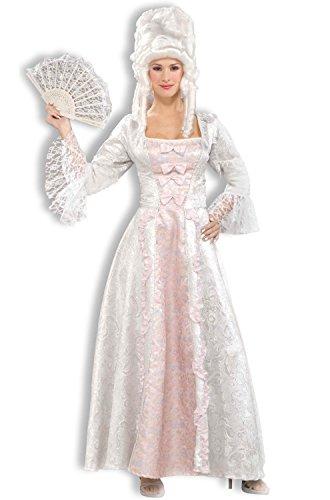 [Forum Novelties Women's Designer Collection Marie Antoinette Costume, Pink/White, Large] (Marie Antoinette Costumes)