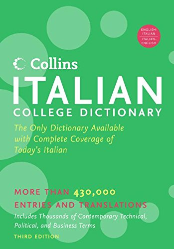 HarperCollins Italian College Dictionary, 3rd Edition (Collins Language)
