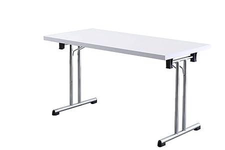 Oficina de mesa plegable Dr de oficina - Medidas 138 x 69 cm - 2 ...