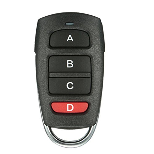 Egal 4 Buttons 1527 Remote Control Duplicator Cloning Gate for Garage Door Opener Learning Copying Transmitter Key Fob