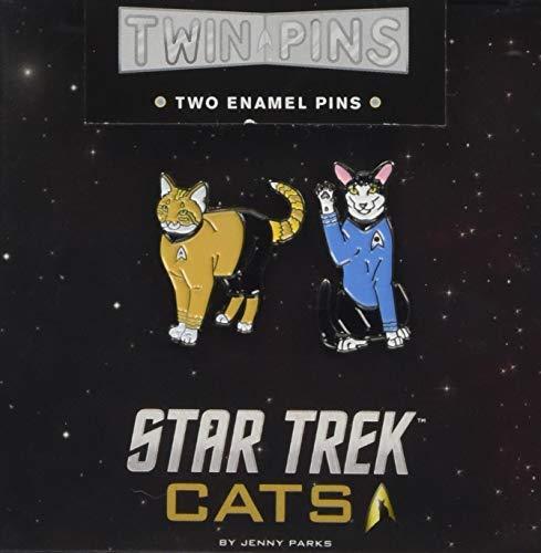 - Star Trek Cats Twin Pins: Two Enamel Pins