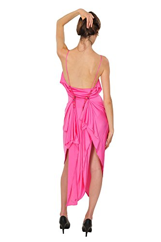 Versace Vêtir Femme Rose unicoloré Viscosa Synthétique 46 IT