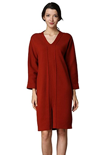 angora sweater lambswool dress - 5