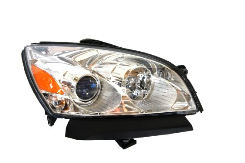 Genuine Assembly Headlight (Genuine Saturn 25831298 Outlook Passenger Side Headlight Assembly Composite (Partslink Number GM2503285))