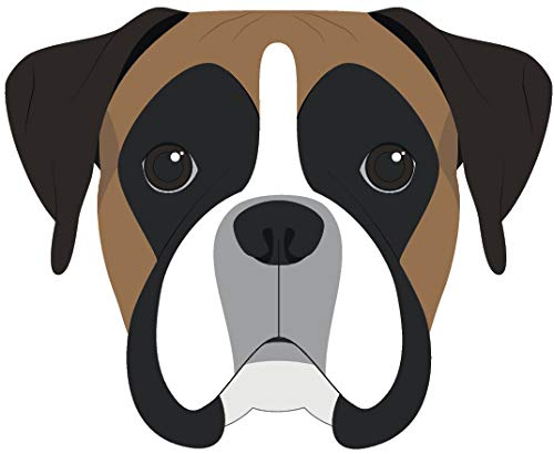 Cute Sweet Adorable Puppy Dog Head Breed Cartoon Vinyl Sticker (2