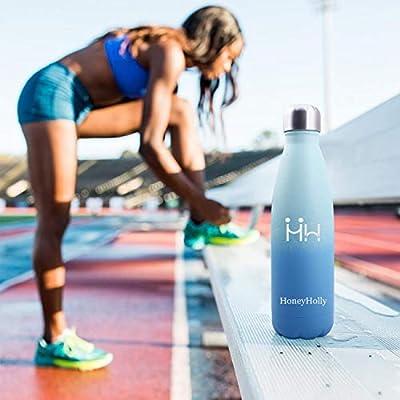 HoneyHolly Botella de Agua Acero Inoxidable 350ml, Aislamiento de ...