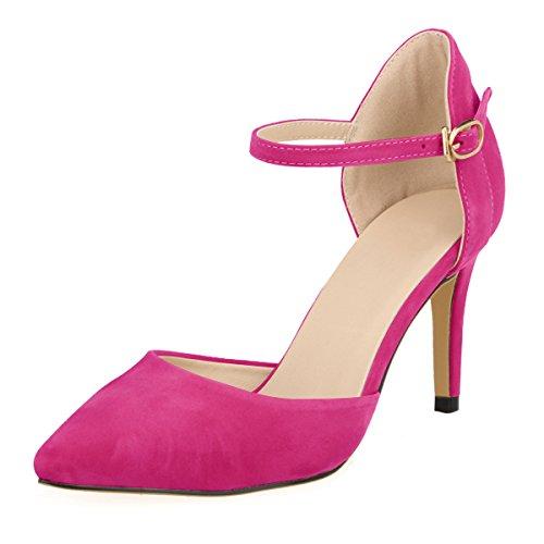 DULEE Sandales Femme Fuschia Compensées Sandales Compensées Femme DULEE Fuschia DULEE xq4CwSBCH