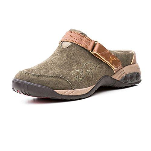 Therafit Chaussures Femmes Austin Sabot Slip Marron