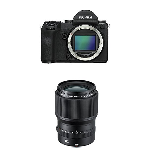 Fujifilm GFX 50S 51.4MP Mirrorless Medium Format Camera w| GF110mmF2 R LM WR Lens