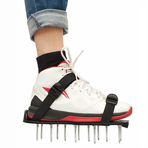 Wgwioo Zapatos/Sandalias del Aireador del Punto del Césped De Jardín, con 2 Hebillas Plásticas De Las Correas, para...
