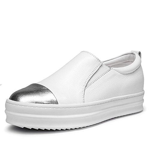 primavera Lok Fu zapatos/Mujer suela gruesa casuales zapatos poner un pie/ calzado cómodo/Zapatos planos B