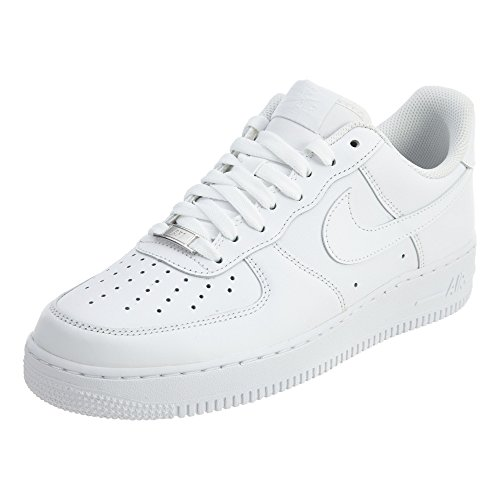 Nike Mens Air Force 1 Low 07 Basketball Shoes White/White 315122-111 Size 7.5