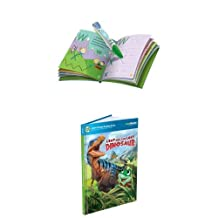 LeapFrog LeapReader Reading and Writing System, Green + LeapFrog LeapReader Book: Leap and the Lost Dinosaur (works with Tag) Bundle