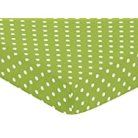 Fitted Crib Sheet for Spirodot Baby/Toddler Bedding by Sweet Jojo Designs - P...