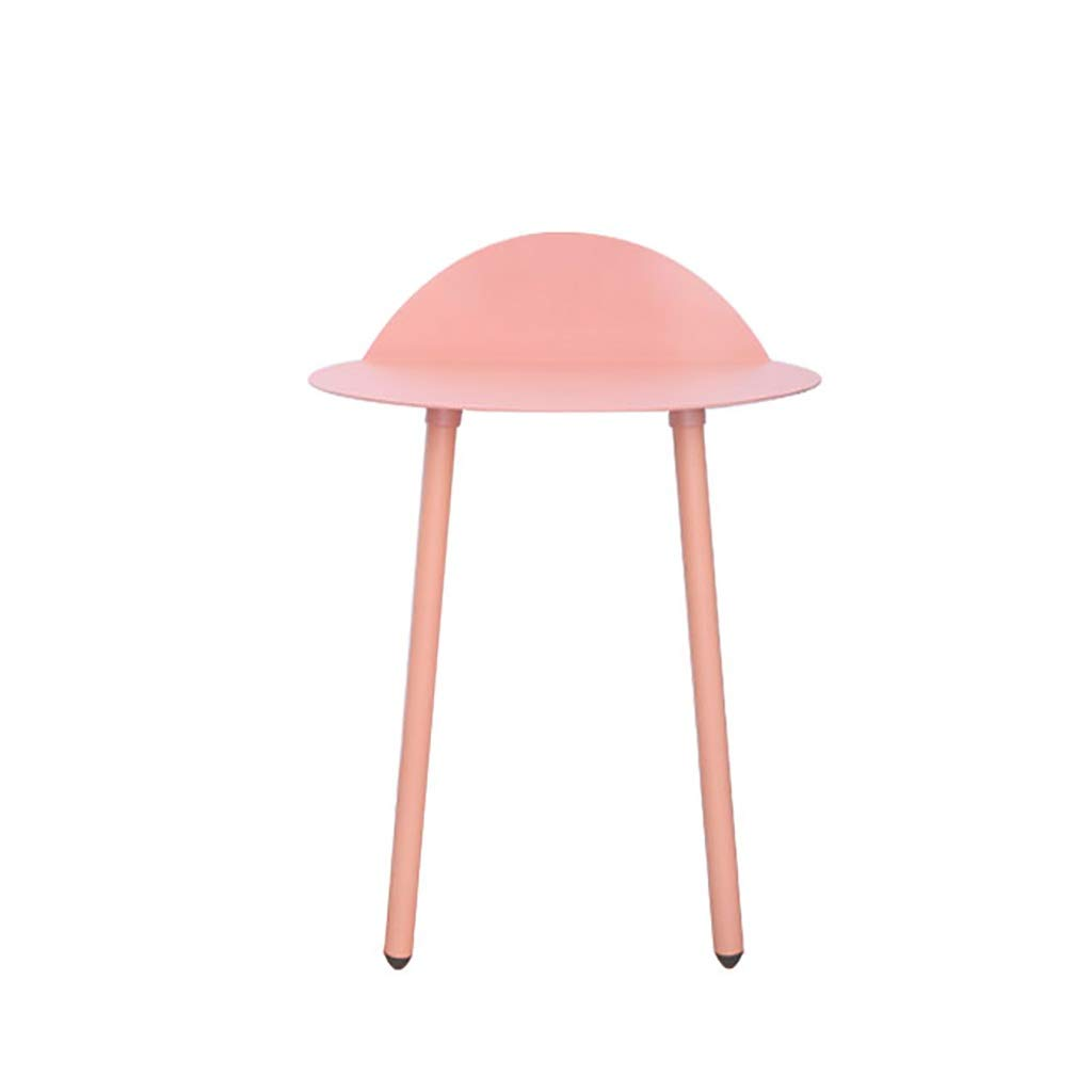 Wall Tables for Hallways, Metal Wall Desks, Saving Space, Easy to Install, Wall Mounted Desks for Small Spaces (Color : Pink, Size : Large) by WYQ