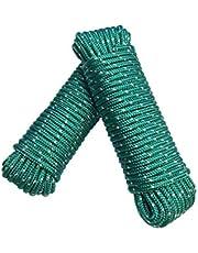 Touw 8 mm 20 m - polypropyleen touw PP, vastmakerijn, multifunctioneel touw, breien, tuintouw, outdoor - breukbelasting: 700kg, 20m x 8mm