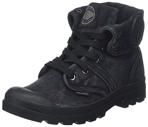 Palladium Womens Pallabrouse Baggy Black Canvas Trainers 7 US