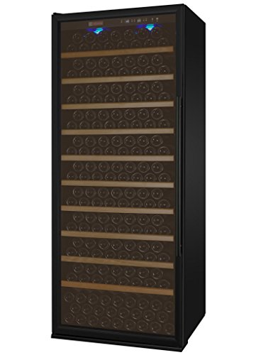 Allavino YHWR305-1BLT Vite Series 305 Bottle Single-Zone Wine Refrigerator - Left Hinge Black Door