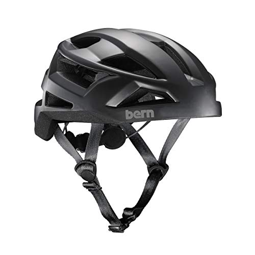 - BERN - FL-1 Libre Helmet, Matte Black, Medium