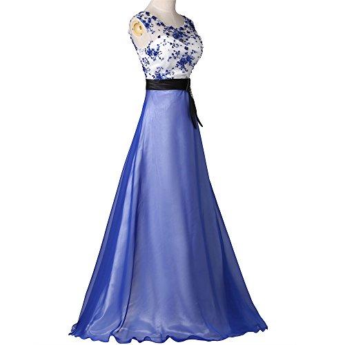 Senza Blu Mall a Vestito Donna ad linea maniche Bridal xnqwB4UX8X