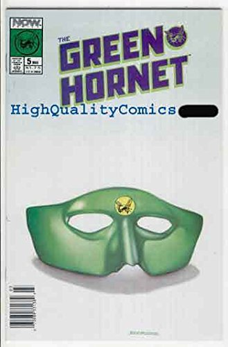 GREEN HORNET #5, NM, Now Comics, 1989, Kato, Cool Mask cv, more GH in store]()