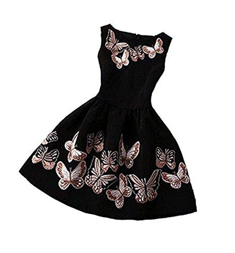 butterfly dress ladies - 9