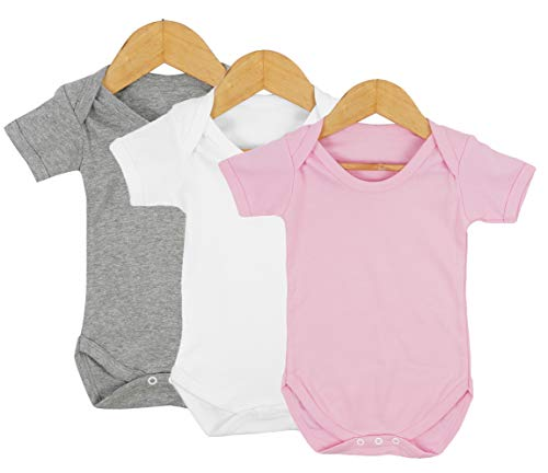 ICABLE Baby Boy's and Baby Girl's Playsuit (0-3 Months)