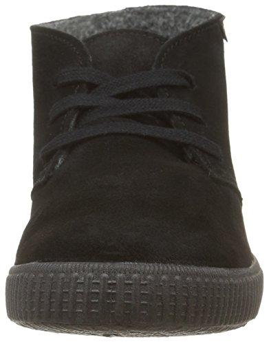 Victoria106793 - botas mulitares forradas Unisex adulto negro - negro