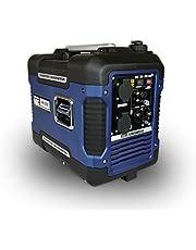 Kraftgenerator GNR.2050, strömgenerator, bensin, 4 l tankvolym, strömförsörjningsenhet, 4-takts motor, inverterare strömaggregat, med bärhandtag