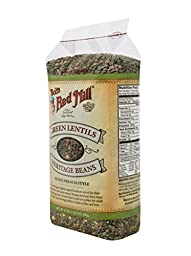 Bob\'s Red Mill Petite French Green Lentils, 24 Ounce