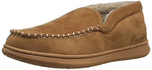 Dockers Men's Craig Ultra-Light Mid Premium Slippers Moccasin, Tan-Beige, 11 M US by Dockers