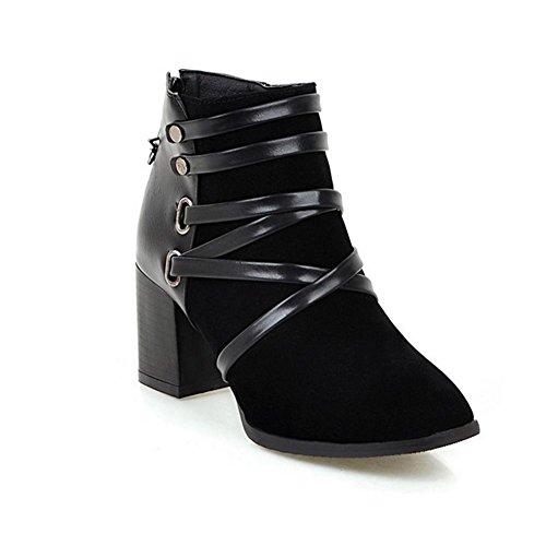 black tacco Cross Skid 41 donne stivali Resistant in di H gomma e grosso stagioni Strap Nero HQuattro e dell'albicocca usura colore corti scrub vx1qA0w