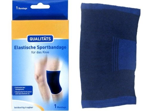 Qualitäts Knie Kniegelenk Bandage Sportbandage elastisch, Gr. M