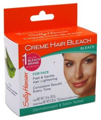 Sally Hansen Creme Hair Bleach For Face (2 Pack) ()