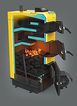 KSW alfa plus multicombustible sólido calefacción combustible de la caldera 20 kw con controlador electrónico