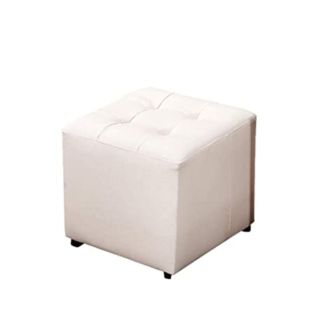 Outstanding Amazon Com Nohope Stools Square Chair Stool Imitation Ibusinesslaw Wood Chair Design Ideas Ibusinesslaworg