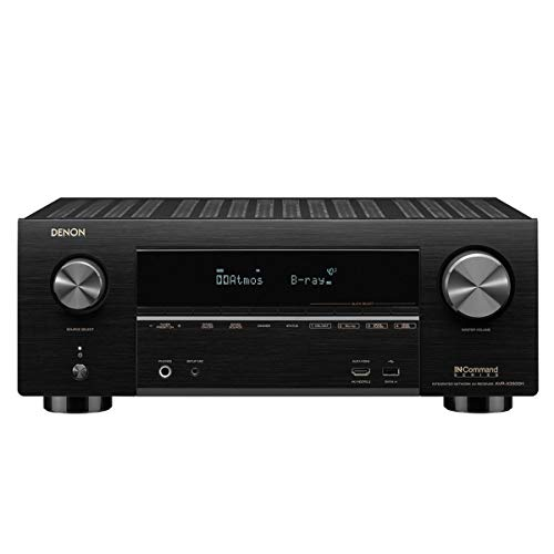 Denon AVR-X3500 Receiver - 8 HDMI Input/3 Output 7.2 Channel 4K Ultra...