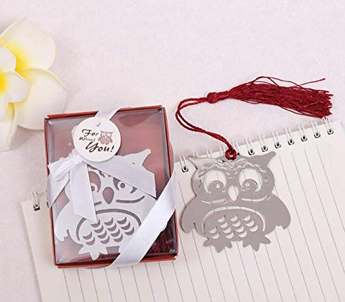 50pieces Owl Bookmarks Wedding Favors Party Gifts