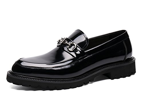 Herren Lederschuhe Herren Lederschuhe Business Formelle Kleidung britischen Stil Anzug Hochzeit Schuhe Herrenschuhe ( Farbe : Schwarz , größe : EU38/UK5.5 ) Schwarz